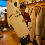 『SNAKE EYES』 STACEY SURFBOARDS.