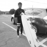 『BACK RUSH』 SK SURFBOARDS.