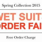 【WET SUITS ORDER FAIR】 START!