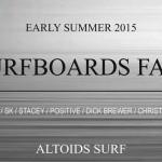 初夏の【SURFBOARDS FAIR 】スタート!!