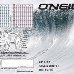 【O'NEILL WETSUITS】FALL WINTER 2018