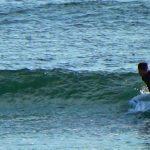 明日の波予想 と 極小の波でのテストライド