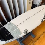 「WAVE SLAVE SLIM」STACEY SYRFBOARDS
