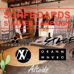 2020 夏のサーフボードキャンペーン