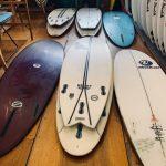 サーフボード修理と今週の営業案内